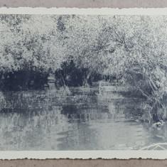 IN BALTILE BRAILEI , LA COROTISCA , FOTOGRAFIE TIP CARTE POSTALA , MONOCROMA, NECIRCULATA , 1 MAI 1934