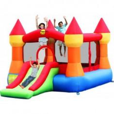 Happy Hop - Spatiu de joaca gonflabil Castel cu tobogan