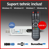 Tuner TV Digital USB - v2019.1 - HBO HD - DVB-C DVBC T2 - suport tehnic, Extern (necesita PC)
