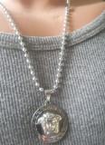 Lant +medalion INOX Medusa = 40 ron