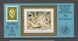 Cuba.1979 Expozitia filatelica PHILASERDICA:Pictura-Bl.  PC.26, Nestampilat