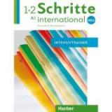 Schritte international Neu 1+2 Intensivtrainer mit Audio-CD - Daniela Niebisch