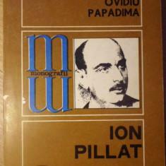 ION PILLAT - OVIDIU PAPADIMA
