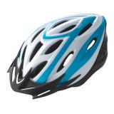 Casca Rider Culoare Alb/Albastru Marime L (58-61cm)PB Cod:588402284RM
