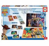 Superpack Toy Story - Joc Domino, Joc Identic, 2 x Puzzle 25 piese, Educa