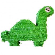 Pinata Dinozaur Verde Green Dinosaur Party