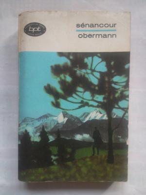 (C413) SENANCOUR - OBERMANN - BPT 640 foto