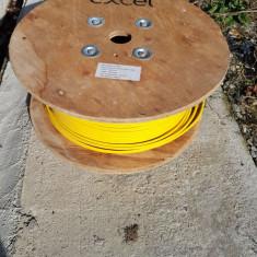 Cablu de retea Cat.7 S/FTP FRNC 695, AWG 23 BKT (Culoare Galbena)