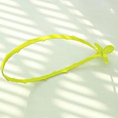 Sarpe, carlig, cablu - aparat desfundat tevi de scurgere, culoare verde
