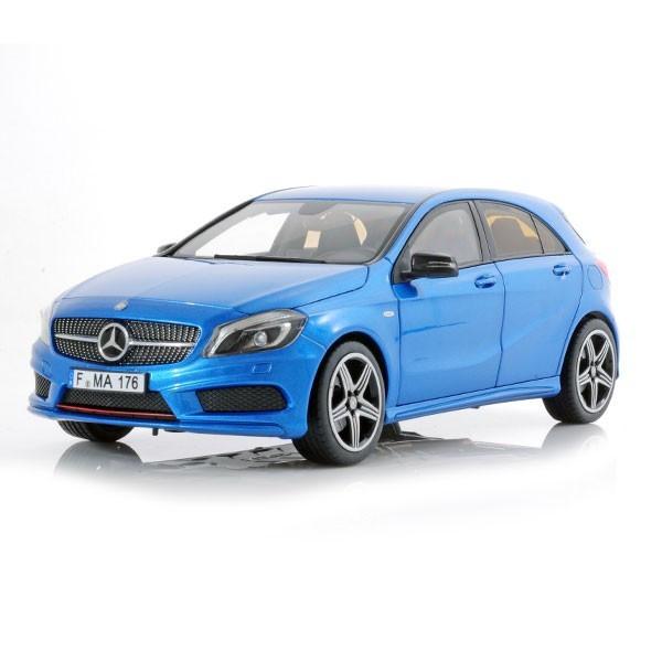 Macheta Auto Norev, MERCEDES BENZ A 250 Sport 2012 Albastru metallic scara 1:18