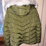 Geacă de iarna groasă mar xxl, 42/44, Verde