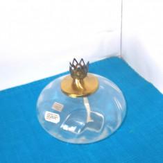Lampa cristal pt. ulei sau petrol aromat, handmade - design Rune Strand, SEA