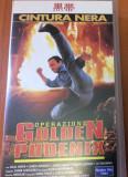 Black Belt : Operation Golden Phoenix  ( 1994 ) Film Caseta Video VHS  Originala