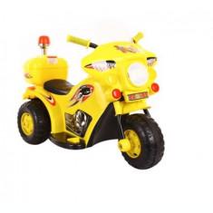 Motor electric pentru copii 991 6V Galben