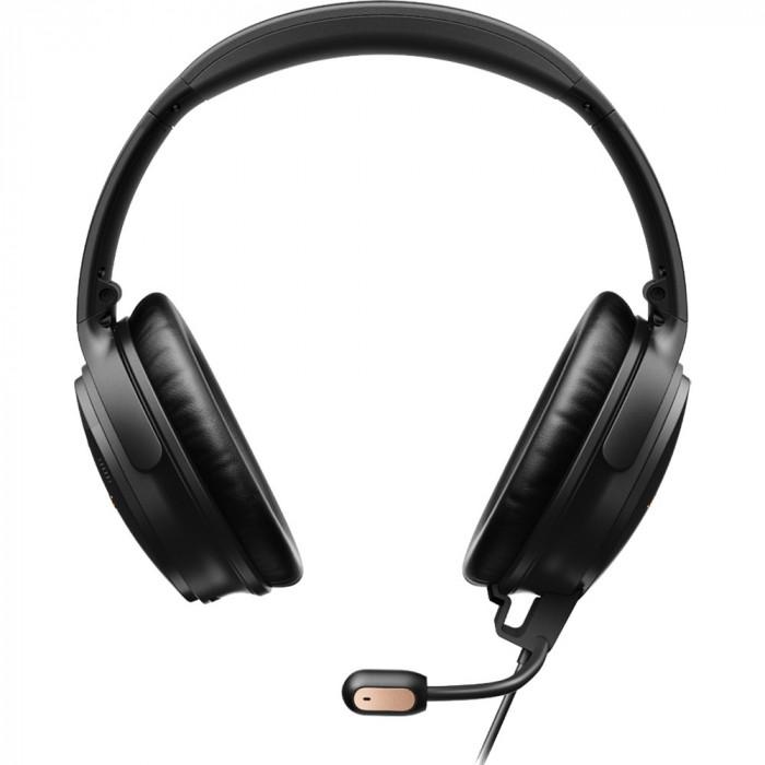 Casti Wireless Bluetooth Over Ear QuietComfort 35 II Gaming, Active Noise Cancelling, Modul Joc Detasabil, Amazon Alexa, Google Assistant, Microfon, N