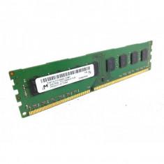Memorie desktop - Micron 4gb -2Rx8-PC3-10600-9-11-B1