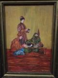 Pictură în ulei pe placaj, semnătură Gheorghe Boțan (1929-2016)