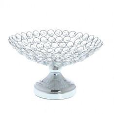 Platou decorativ, cu cristale acrilice