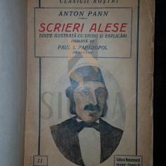 SCRIERI ALESE - ANTON PANN