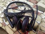 CASTI USB PENTRU PC CU MICROFON PLANTRONICS BLACKWIRE C325-M  FUNCTIONALE, Casti cu microfon