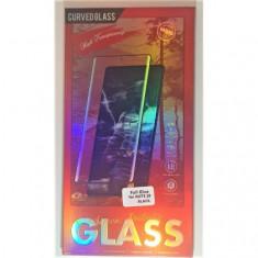Folie Protectie ecran antisoc , Full Glue , Samsung G980 Galaxy S20 , Tempered Glass 9D , Full Face , Neagru Blister