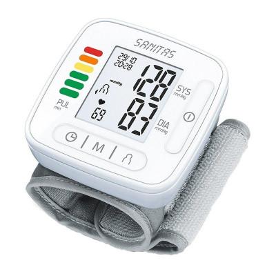 Tensiometru digital de incheietura Sanitas SBC22, display LCD, Alb foto