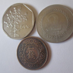Lot 3 monede straine colectie,vedeti imaginile