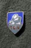 Insigna regalista TCR touring club Romania