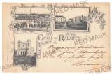 5218 - RADAUTI, Bucovina, SYNAGOGUE, Litho, Romania - old postcard - used - 1898, Circulata, Printata