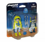 Cumpara ieftin Playmobil Space, Set 2 figurine - astronaut si robot