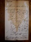 DOCUMENT VECHI 1884 - MITROPOLITUL BLAJULUI - PROTOPOPIATUL LUDUS -LOC. ICLANZEL