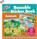 Cartea mea cu stickere Galt, Animale