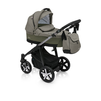 Carucior Multifunctional 2 in 1 Baby Design Husky Winter Pack 04 Olive foto