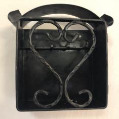 Dulapior elvetian,suport pentru chei,din fier forjat