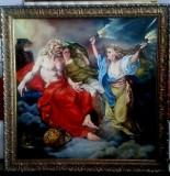 Reproducere mari clasici, Religie, Ulei, Realism