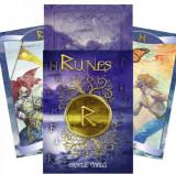 Cumpara ieftin Carti tarot Runes oracle +cartea in limba romana +cadou un set de rune