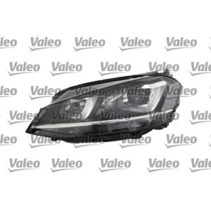 Far VW Golf 7 10.2012- VALEO partea Stanga Xenon tip bec D3S, cu lumina viraje, lumini de zi LED, asistenta faza lunga