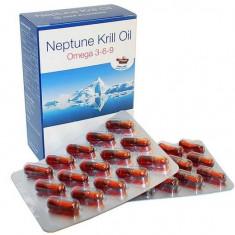 Neptune Krill Oil Canada - Omega 369, 60 capsule, scade colesterolul si trigliceridele