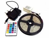 Cumpara ieftin Kit banda LED RGB 5m