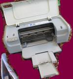 Imprimantă HP 2360 uzată, cu alimentator 0957-2119, cu 4 cartușe