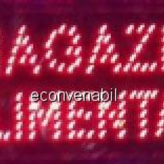 Reclama Luminoasa cu LED 50x25cm Magazin Alimentar