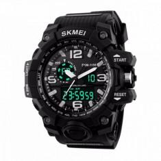 Ceas Barbatesc SKMEI CS896, curea silicon, digital watch, Functii- alarma, ora, rezistent 3ATM foto
