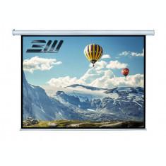Ecran de proiectie electric perete/tavan Blackmount marime vizibila 200 x 113 cm cu telecomanda