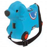 Cumpara ieftin Masinuta de impins tip valiza Big Bobby Trolley blue