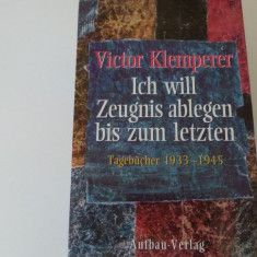 Viktor klemperer - tagebucher 1933-1945