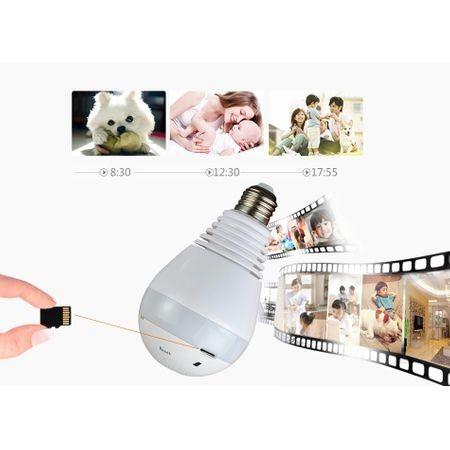 Camera panoramica in forma de bec, Wifi Smart, V380