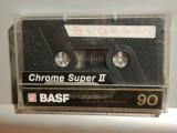 caseta audio BASF Super II 90 - Chrome/RFG - stare: ca Noua