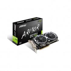 Placa video MSI NVIDIA, GeForce GTX 1060 ARMOR 6G OCV1, PCI-E, 6144MB, GDDR5 , 192bit, 1544MHz/1759 MHz, HD2.0b, DisplayPort 1.4, DVI-D, 2-Way bulk