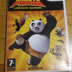 WII Dreamworks Kung Fu Panda Legendary warriors original PAL / by Wadder, Actiune, 3+, Multiplayer, Activision
