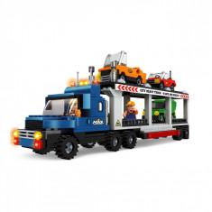 Set cuburi Lego,actual investing, model camion, 454 piese